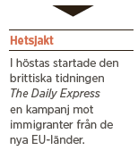 Andreas Ericson Joakim Ruist EU migration Bulgaria Romania Daily Express Neo nr 1 2014