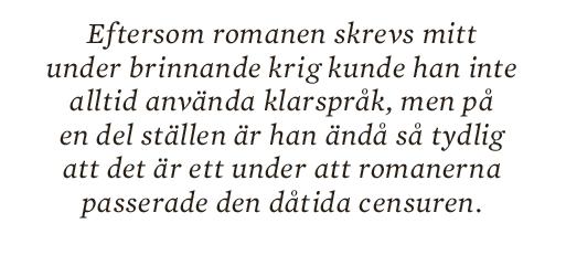 Torbjörn Elensky essä Eyvind Johnson Neo nr 2 2014 citat5