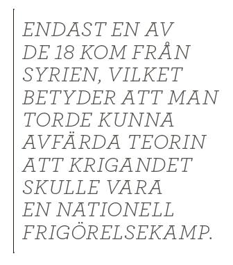 Per Gudmundson ISIS jihad svenska jihadister islamism spanska inbördeskriget Neo nr 4 2014 citat1