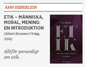 Patrik Strömer recension Ann Heberlein Etik Neo nr 4 2014