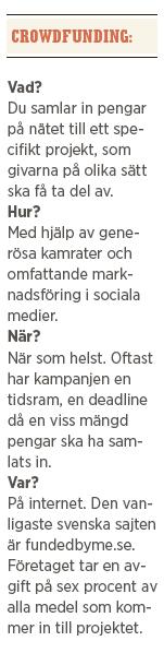 Fredrik Segerfeldt crowdfunding sossesverige FN spruckna drömmar Befria kulturen från politiken Johan norberg Martin Borgs Neo nr 4 2014