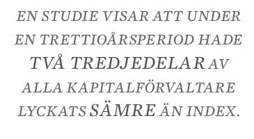 Nils Lundgren Behöver vi fondförvaltare? Neo nr 4 2014