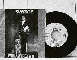 Sverige blev William Freestyles enda album. Foto: Privat