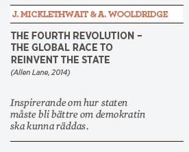 John Micklethwait & Adrian Wooldridge The fourth revolution recension Mattias Svensson Neo nr 5 2014