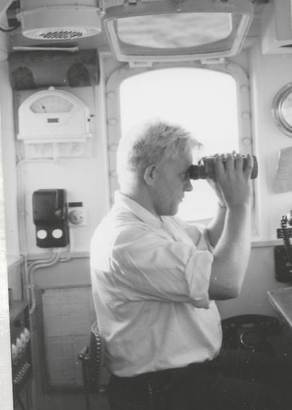 Niels Gartig var matros ombord på det danska fyrskeppet Gedser Rev dit många flyktingar från kommunistdiktaturerna kom. Fyrskeppet var i tjänst fram till 1972 och ligger numera i Nyhavn. Foto: Jesper Clemmensen