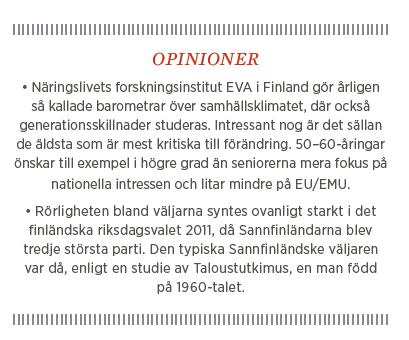 Sylvia Bjon Generation X Finland globalisering Neo nr 5 2014 opinioner