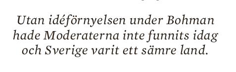 Mats Johansson En knapptryckares bekännelser Fredrik Reinfeldt Anders Borg Åsa Linderborg Anna Kinberg Batra Hövdingen  Anne-Marie Pålsson Nya  Moderaterna essä Neo nr 6 2014 citat1