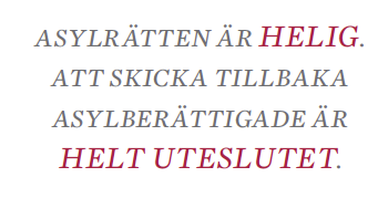 Nils Lundgren En legitim politisk fråga asyl invandring Sverigedemokraterna  Lena Andersson Marie Demker Neo nr 6 2014