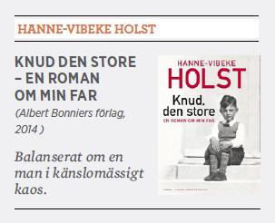 Hannna Lager recension Hanne-Vibeke Holst Knud den store Neo nr 6 2014