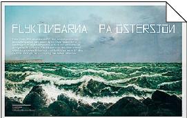 Maria Ludvigsson reflektion Lena Breiitner Flyktingarna på Östersjön DDR Östtyskland kommunism Medelhavet flyktingvåg Neo nr 6 2014