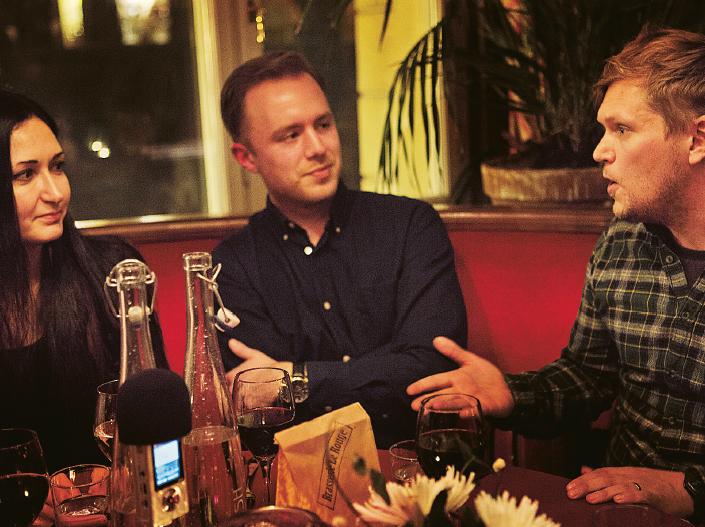 – Men det kan man väl säga om Reinfeldt ändå? Att han stod för någonting, gjorde en uppoffring och det blev storyn om Nya Moderaterna, säger Henrik Torehammar. Foto: Annika Berglund