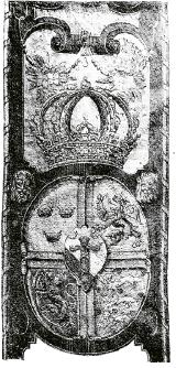Erik XIV:s vapensköld.