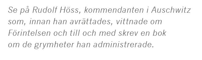 Dick Harrison Ronneby blodbad Blekinge Erik XIV Herman Lindqvist Rickard Lejonhjärta  Saladin Albert Speer Rudolph Hess slaveri historia kungen Neo nr 1 2015 citat 1