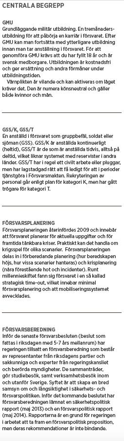 Neo nr 2 2015 Sara Norrevik Fredrik Reinfeldt Mikael Odenberg Peter Hultqvist ÖB Nato försvar Hur tänkte vi? fakta