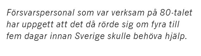 Neo nr 2 2015 Sara Norrevik Fredrik Reinfeldt Mikael Odenberg Peter Hultqvist ÖB Nato försvar Hur tänkte vi? citat2