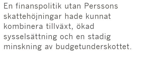 Sven R Larson Wibble räddade Sverige nationalekonomi Anne Wibble Göran Persson anders Borg Magdalena Andersson 90-talskrisen konjunkturpolitik BNP Neo nr 2 2015 citat