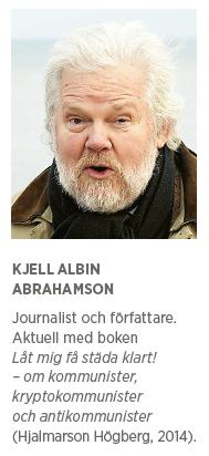 Kjell-Albin Abrahamsson Kommunister kommunism Kollaboratörer Die Linke Wolf Biermann  Gregor Gysi   Sigmar Gabriel Josef Stalin rödgrönt Neo nr 2 2015