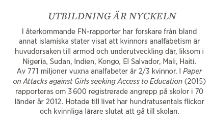Lisbeth Lindeborg Kampen för skolan  Malala Yousafzai Ayaan Hirsi Ali Neo nr 2 2015 fakta