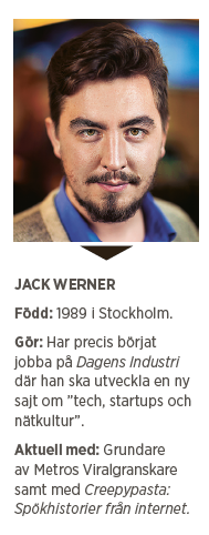 Andreas Ericson intervju Jack Werner Viralgranskaren Metro Åsa Larsson Linnéa Jonjons Jack Werner Journalistpriset Neo nr 2 2015 presentation