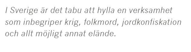 Dick Harrison Sverige behövde inte invaderas Johan Hakelius Ulf Nilsson Daniel Swedin Aftonbladet kolonialism John Cleese Life of Brian Neo nr 3 2015 citat