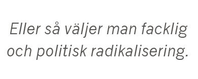Fredrik Johansson strejk LO SAF SVT lockout Neo nr 3 2015 citat