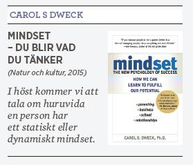 Linda Skugge recension Carol S Dweck Mindset statiskt dynamiskt Neo nr 4 2015