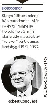 Robert Conquest Josef Stalin Holodomor Ukraina Sovjetunionen Jerry F Hough Neo nr 4 2015
